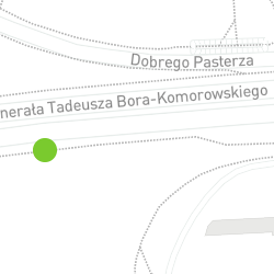 Punkt pomiaru ruchu rowerowego o nazwie Bora-Komorowskiego