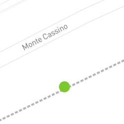 Punkt pomiaru ruchu rowerowego o nazwie Monte Cassino