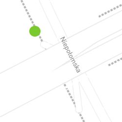 Punkt pomiaru ruchu rowerowego o nazwie Niepołomska