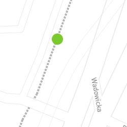 Punkt pomiaru ruchu rowerowego o nazwie Wadowicka