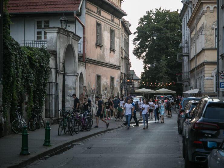 Ulica na Kazimierzu